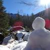 11月の赤岳鉱泉 テント泊