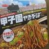 エースコック 阪神甲子園球場監修 甲子園やきそば 食べてみました