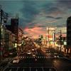 松山南環状線の風景