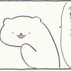 4コマ漫画「しろうさんの日常」