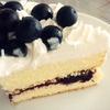 超手抜きのブルーベリーケーキ Easy home-made blueberry cake