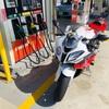 S1000RRの燃費と給油ランプ。