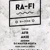 12/17(日) RA-FI @木屋町West Harlem
