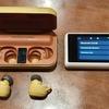 眠りのための快適音源を内蔵したワイヤレス&モバイルプレーヤー「NEM」