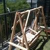 【コト】庭にブランコ(2)組み立て