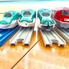 プラレールとダイソーのプチ電車シリーズのレールを徹底比較