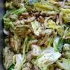 鶏肉と春キャベツのグリーンソース
