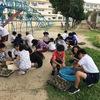 西小の環境委員会の児童たちとEMだんご作りました。7/21が楽しみです。