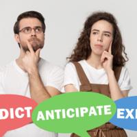 「予測する」を表す英語の使い分け!anticipate,expect など