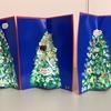 軽度認知機能障害回復プログラムなつめで臨床美術「クリスマスツリーを描く」を行いました