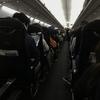 JALマイレージ修行4:後ろに座っていた方々の会話に苦笑い。 ※「修行」の認知度は、日々高まっています(?)。