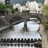#4長崎旅行記(1日目 眼鏡橋〜諏訪神社〜夕食〜グラバー園ライトアップ)