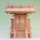 靖国神社を祀っている人がいたな 尾州桧で作る神代一社神殿