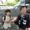 今日も楽しい幼稚園(#^.^#)