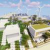 【マイクラ】アカシアの並木道と街紹介【砂漠の村をリメイクするよ 10・終】