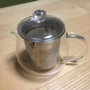 耐熱ガラスポットで温かいお茶を。@ニトリ