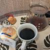 今回のコーヒーはニカラグア(中煎り)~お茶請けはチーズケーキ~