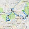 皇居ランから脱線 東京観光ラン 永田町→四谷→青山→表参道→西麻布9km