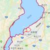 ビワイチ(自転車に寄る琵琶湖1周)に挑戦しました