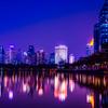 タイ王国に住む③バンコクでロードバイク乗るならここ、夜景も綺麗なベンジャキティ公園