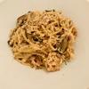 イタリアンの巨匠・日高良実さん直伝「サーモンとキノコのスパゲティ」