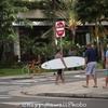 ハワイ滞在、5日目の朝散歩。