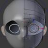 顔のモデリングの超詳細手順 その2 目の周辺を作る!:Blender