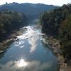五條市の紀ノ川から吉野川沿いにバイクで走る
