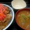 北海道 千歳市 吉野家 千歳店 / 早朝3時台の朝食