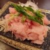 ネギトロ丼は酢飯派です