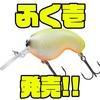 【DAIWA】根掛かりしにくいクランクベイト「ふく壱」発売!