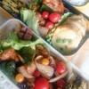 鶏もも肉と野菜のケチャップ炒め弁当
