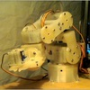 自作したロボットアームを制御する(仮想と現実)(その1)仮想空間と現実空間を同期させる