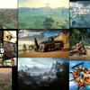 『Forza Horizon 3』の広さが約1000平方kmになるとのことなので、今まで出てたオープンワールド作品と比べてみたかった