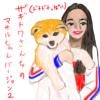 ザギトワさんちのマサルちゃん、ネコ(20180605_02)