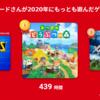 いまさら My Nintendo Switch History 2020 を見てみた