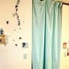 カーテンを作りました!