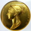 イギリス 1838年ヴィクトリア戴冠ゴールドメダルNGC MS62