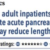 ACPJC:治療 軽症から中等症の成人急性膵炎入院患者では、早期栄養摂取が入院期間を減らすかもしれない