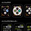 Apple Watchのインフォグラフが便利で手放せない