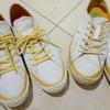 スピングルムーブ初代「SPM-101」4足目で試した、履き始めの靴擦れ対策が大成功!