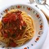 てつkitchen「トマトの冷製パスタ」