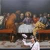 絵に参加♪(笑)ルーブル美術館♪ハネムーン旅行記♪