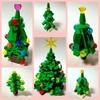 レゴのクリスマスツリーたちと作り方