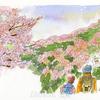 桜を見ながらハイキング♬心地よい春の景色