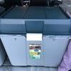 SJフォレスター車中泊はアイリス収納BOXで簡単フラット段差無し。もちろん荷物も収納できる