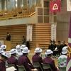 第71回 国民体育大会(本大会) 山梨県選手団 結団壮行式合同応援