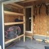 ガレージ棚DIY その3 スタッドレスタイヤが置ける棚をつくる