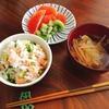 混ぜるだけ♪  鮭と枝豆のさっぱり香味混ぜ寿司のレシピ。