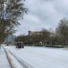 ヒューストンの珍しい雪♡テキサス